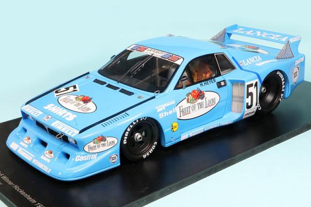 スパーク 1/18 ランチア ベータ モンテカルロ Gr.5 ホッケンハイム 1980 Winner No.51 18SG034