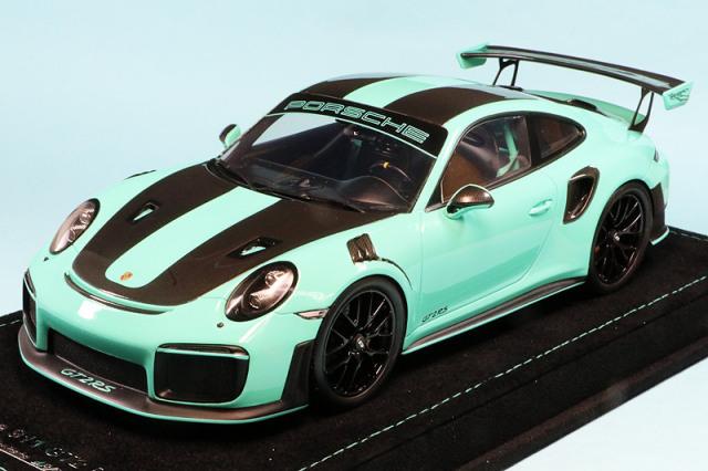 Buonarte Model 1/18 ポルシェ 911 GT2 RS ミントグリーン 限定99台 18WS006