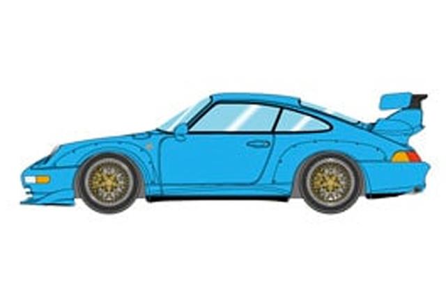ヴィジョン 1/43 ポルシェ 993 GT2 オプション エクイップメント 1996 リビエラブルー VM116B VM116B