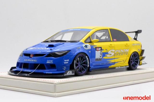 """[予約] one model 1/18 ホンダ FD2 """"Spoon Racing"""" No.9 20F01-01"""