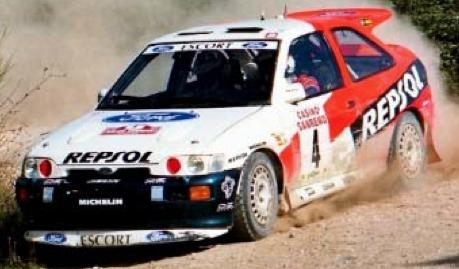 [予約] イクソ 1/24 フォード エスコート RS コスワース 1996 ラリー・サンレモ No.4 C.Sainz/L.Moya 24RAL004A
