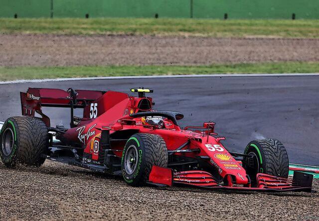 [予約] BBR 1/43 フェラーリ SF21 イモラ エミリアロマーニャGP2021 C.サインツ レインタイヤ MWデカール加工品 BBRC260BRAINS
