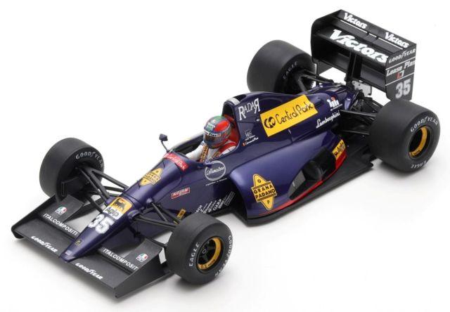 [予約] ルックスマート 1/18 ランボルギーニ 291 サンマリノGP 1991 エリック・ヴァン・デ・ポール  LS18_LF01C