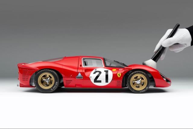 [予約] アマルガム 1/8 フェラーリ 330 P4 ルマン 1967 No.21 2nd クラスウィナー 限定5台 AM0833021