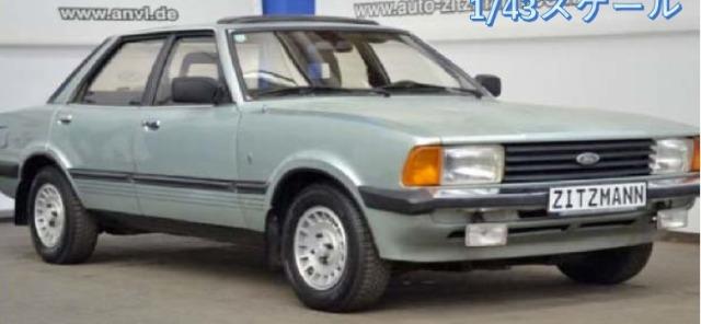 [予約] イクソ 1/43 フォード タウナス ギア 1983 メタリックグリーン CLC363N