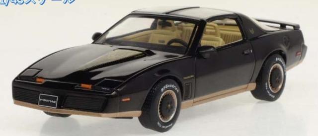 [予約] イクソ 1/43 ポンティアック ファイアーバード 1982 ブラック CLC366N