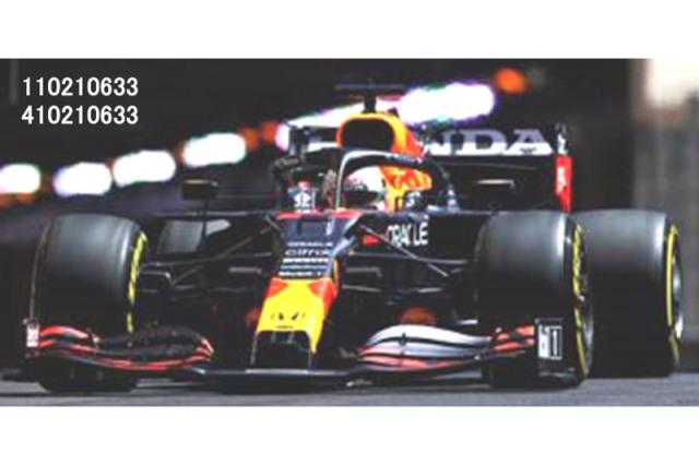 [予約] ミニチャンプス 1/43 レッドブル レーシング ホンダ RB16B モナコGP 2021 Winner M.フェルスタッペン 410210633