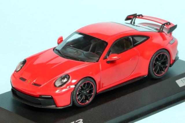 [予約] ポルシェ特注ミニチャンプス 1/43 ポルシェ 911 GT3 インディアンレッド 413069204