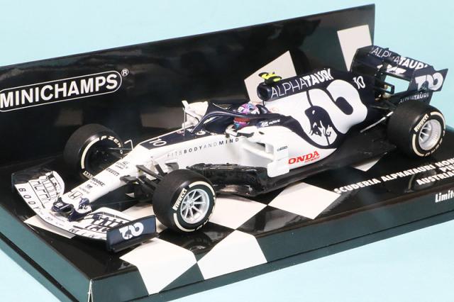 ミニチャンプス 1/43 スクーデリア アルファタウリ レーシング ホンダ AT1 オーストリアGP 2020 P.ガスリー 417200110