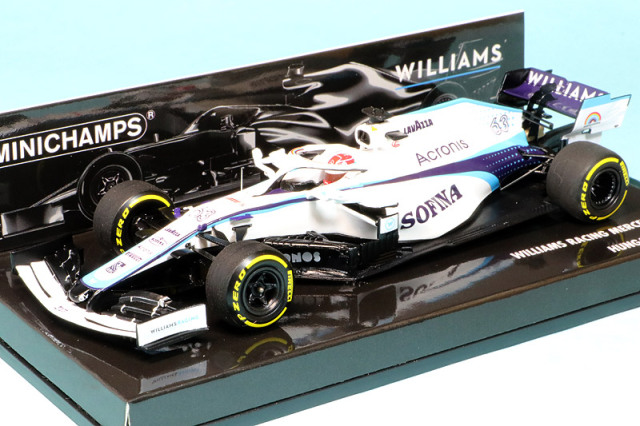 ミニチャンプス 1/43 ウィリアムズ レーシング FW43 オーストリアGP 2020 G.ラッセル 417200163