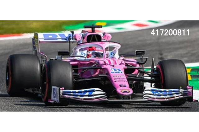 [予約] ミニチャンプス 1/43 BWT レーシングポイント F1チーム メルセデス RP20 イタリアGP 2020 S.ペレス 417200811