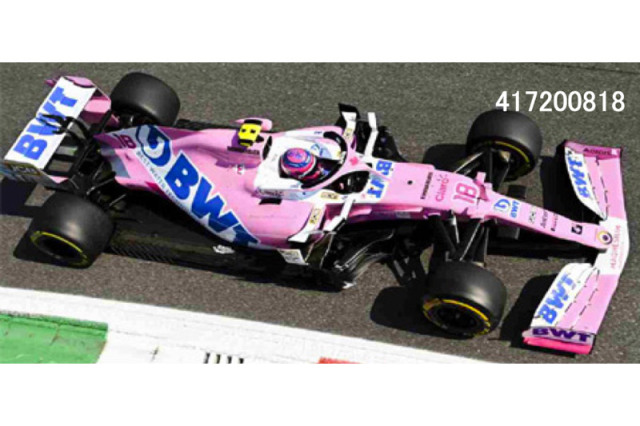 [予約] ミニチャンプス 1/43 BWT レーシングポイント F1チーム メルセデス RP20 イタリアGP 2020 3rd L.ストロール 417200818