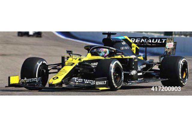 [予約] ミニチャンプス 1/43 ルノー DP ワールド F1チーム R.S.20 アイフェルGP 2020 3rd D.リカルド 417200903