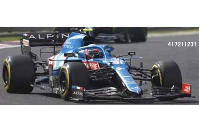 [予約] ミニチャンプス 1/43 アルピーヌ F1チーム A521 ハンガリーGP 2021 Winner E.オコン 417211231