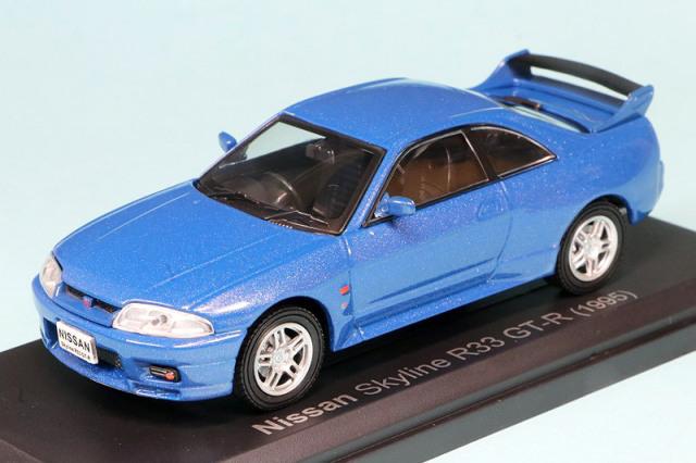 ノレブ 1/43 ニッサン スカイライン R33 GT-R 1995 ブルー 420184
