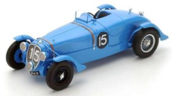 [再生産予約] スパーク 1/43 ドライエ 135 ルマン 1938 No.15 ウィナー 43LM38
