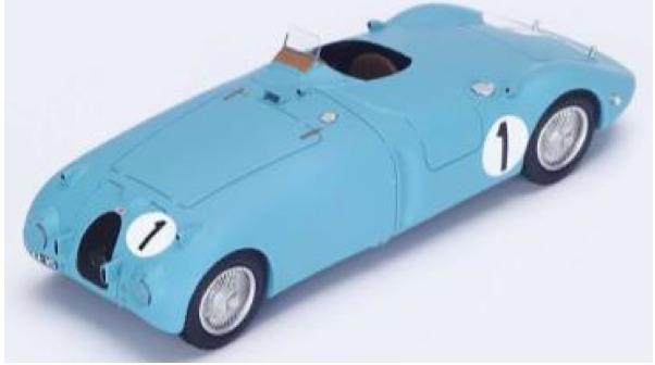[再生産予約] スパーク 1/43 ブガッティ 57C ルマン 1939 No.1 ウィナー 43LM39