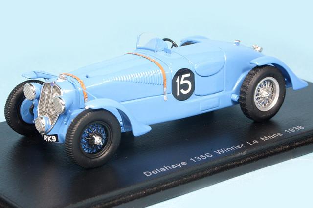 スパーク 1/43 ドライエ 135 ルマン 24h 1938 Winner No.15 43LM38