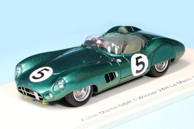 スパーク 1/43 アストン マーチン DBR ルマン 24h 1959 Winner No.5 43LM59