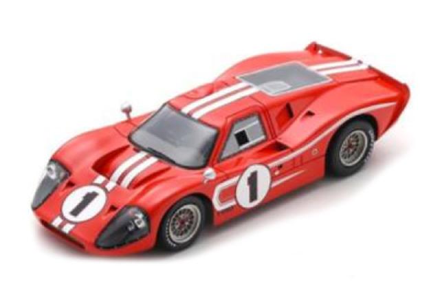 [予約] スパーク 1/43 フォード MK4 ルマン 24h 1967 Winner No.1 43LM67