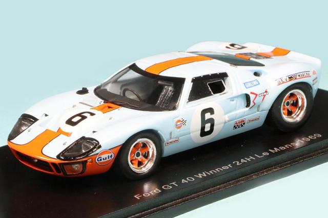 スパーク 1/43 フォード GT40 ルマン 24h 1969 Winner No.6 43LM69