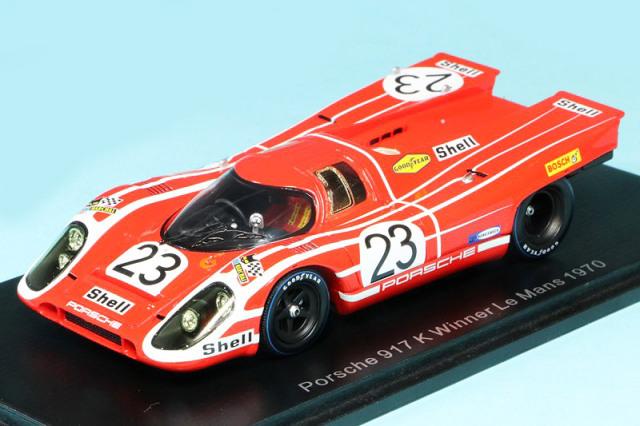 スパーク 1/43 ポルシェ 917K ルマン 24h 1970 Winner No.23 43LM70