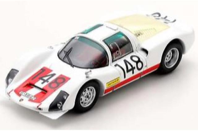 [予約] スパーク 1/43 ポルシェ 906 タルガフローリオ 1966 Winner No.148 43TF66