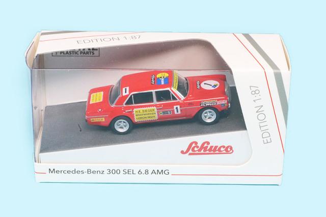 シュコー 1/87 メルセデス ベンツ 300 SEL 6.8 AMG No.1 452649500