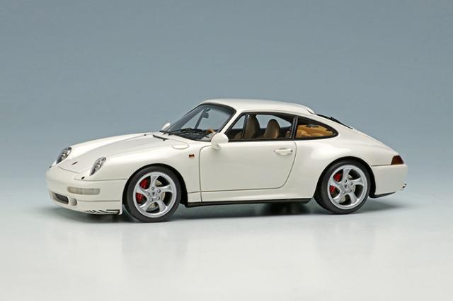 [予約] ヴィジョン 1/43 ポルシェ 911(993) カレラS 1997 ホワイト VM147A