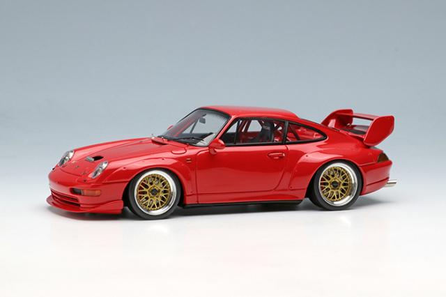 [予約] ヴィジョン 1/43 ポルシェ 911(993) カップ RSR 3.8 1996 ガーズレッド VM153A