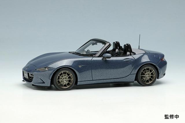 [予約] ヴィジョン 1/43 マツダ ロードスター(ND) シルバートップ 2020 ポリメタルグレーメタリック (限定100台、国内販売数50台) VM200