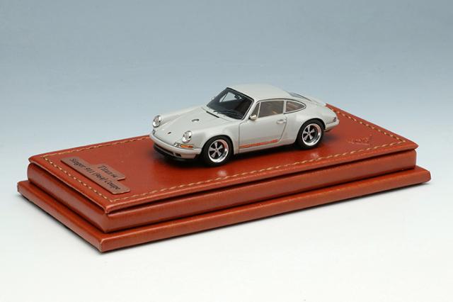 [予約] タイタン64 1/64 シンガー 911 (964) クーペ ライトグレー (限定700台、国内販売350台) TM001E