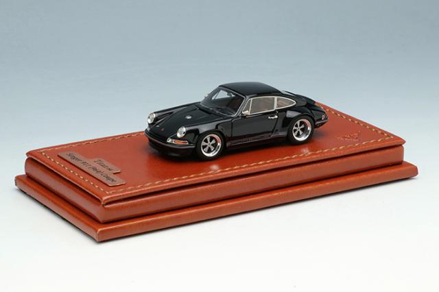 [予約] タイタン64 1/64 シンガー 911 (964) クーペ ブラック (限定400台、国内販売200台) TM001H