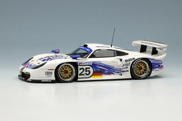[予約] アイドロン 1/43 ポルシェ 911 GT1 EVO ルマン24時間 1997 No.25 EM329A