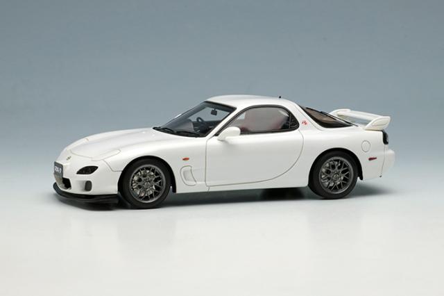 [予約] ヴィジョン 1/43 マツダ RX-7 (FD3S) タイプRZ 2000 スノーホワイトパールマイカ (限定175台、国内販売100台) VM221