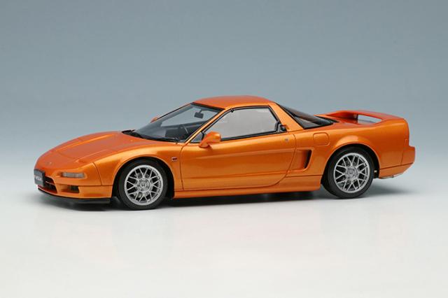 [予約] アイドロン 1/43 ホンダ NSX タイプS (NA2) 1997 イモラオレンジパール (限定100台、国内販売50台) EM583A