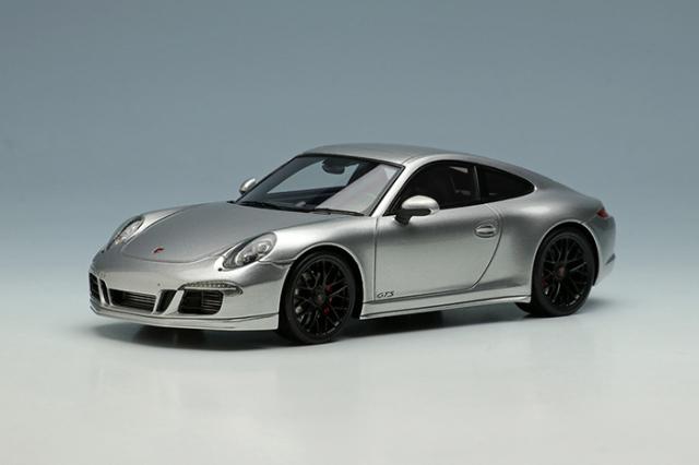 [予約] アイドロン 1/43 ポルシェ 911 (991) カレラ4 GTS 2014 シルバー EM629A