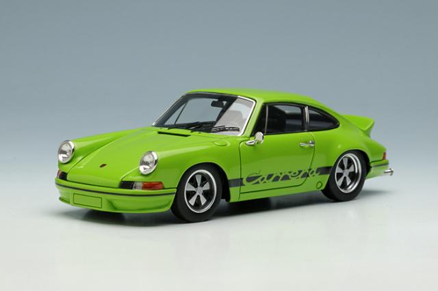 [予約] ヴィジョン 1/43 ポルシェ 911 カレラ RS2.7 1973 ライトグリーン (限定80台、国内販売40台) VM009P