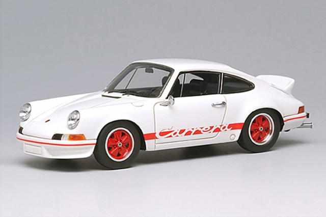 [予約] ヴィジョン 1/43 ポルシェ 911 カレラ RS2.7 1973 ホワイト/レッドストライプ VM009A