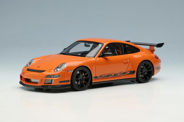 [予約] アイドロン 1/43 ポルシェ 911 (997) GT3 RS 2007 オレンジ / ブラックリバリー EM600A