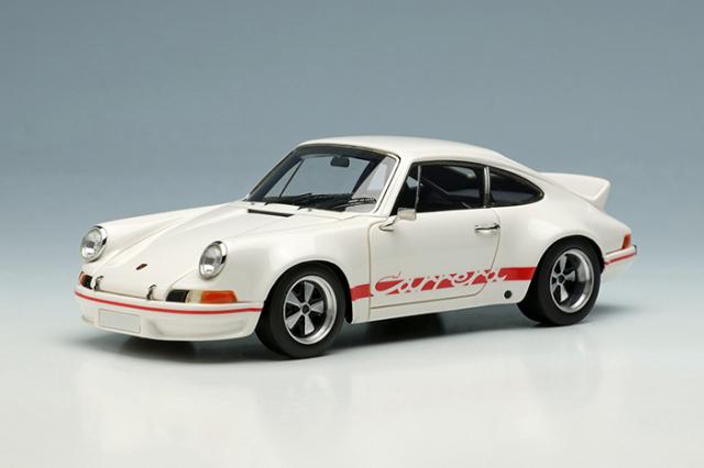 [予約] ヴィジョン 1/43 ポルシェ 911 カレラ RSR 2.8 1973 ホワイト/レッドストライプ VM024A