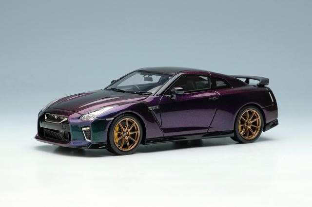 [予約] アイドロン 1/43 ニッサン GT-Rプレミアムエディション T-spec 2022 ミッドナイトパープル EM624B