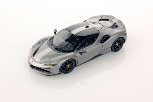 [予約] MRコレクション 1/18 フェラーリ SF90 ストラダーレ グレー FE028C