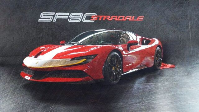 [予約] MRコレクション 1/18 フェラーリ SF90 ストラダーレ ソッロコルサ/ブラック FE028D