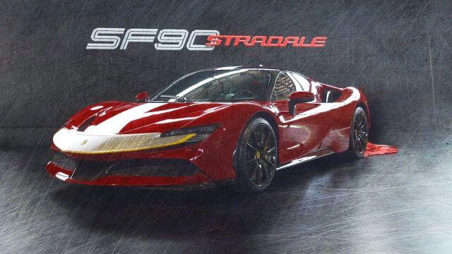 [予約] ルックスマート 1/43 フェラーリ SF90 ストラダーレ ロッソフィオラノ LS504E