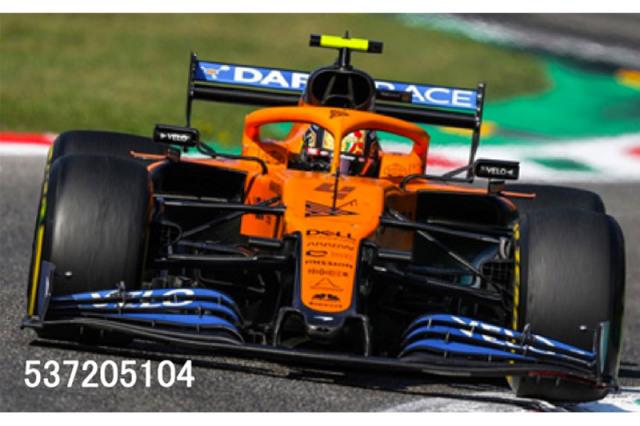 [予約] ミニチャンプス 1/43 マクラーレン ルノー MCL35 イタリアGP 2020 4th L.ノリス 537205104