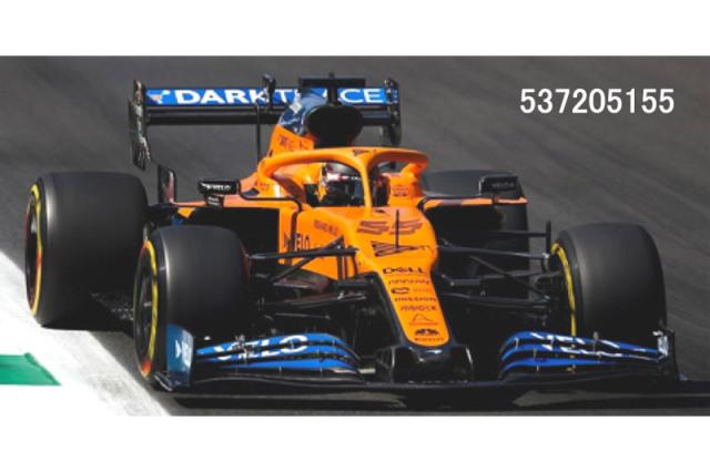 [予約] ミニチャンプス 1/43 マクラーレン ルノー MCL35 イタリアGP 2020 2nd C.サインツJr. 537205155