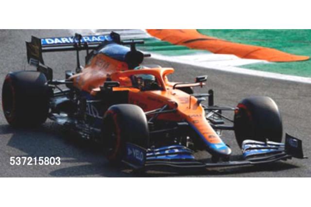 [予約] ミニチャンプス 1/43 マクラーレン F1 MCL35M イタリアGP 2021 Winner D.リカルド 537215803
