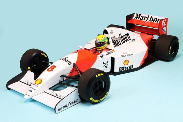 ミニチャンプス 1/18 マクラーレン フォード MP4/8 日本GP 1993 Winner A.セナ デカール加工品 540931878S