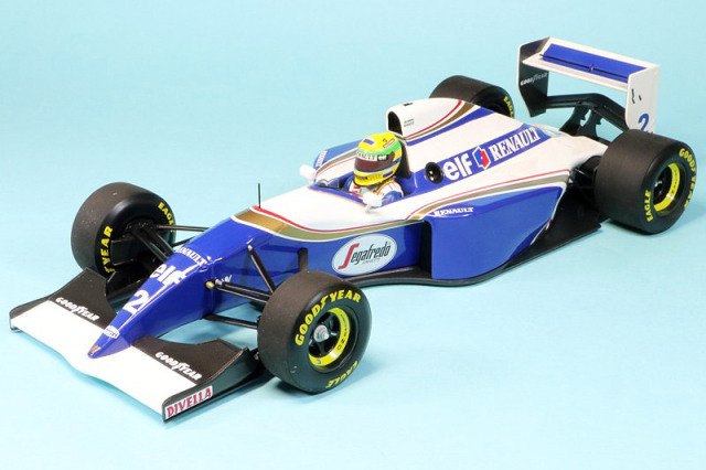 ミニチャンプスウェブサイト限定 1/18 ウィリアムズ FW16 ルノー ポールリカール 1994 テストカー A.セナ 543941899 再入荷ご予約受付中